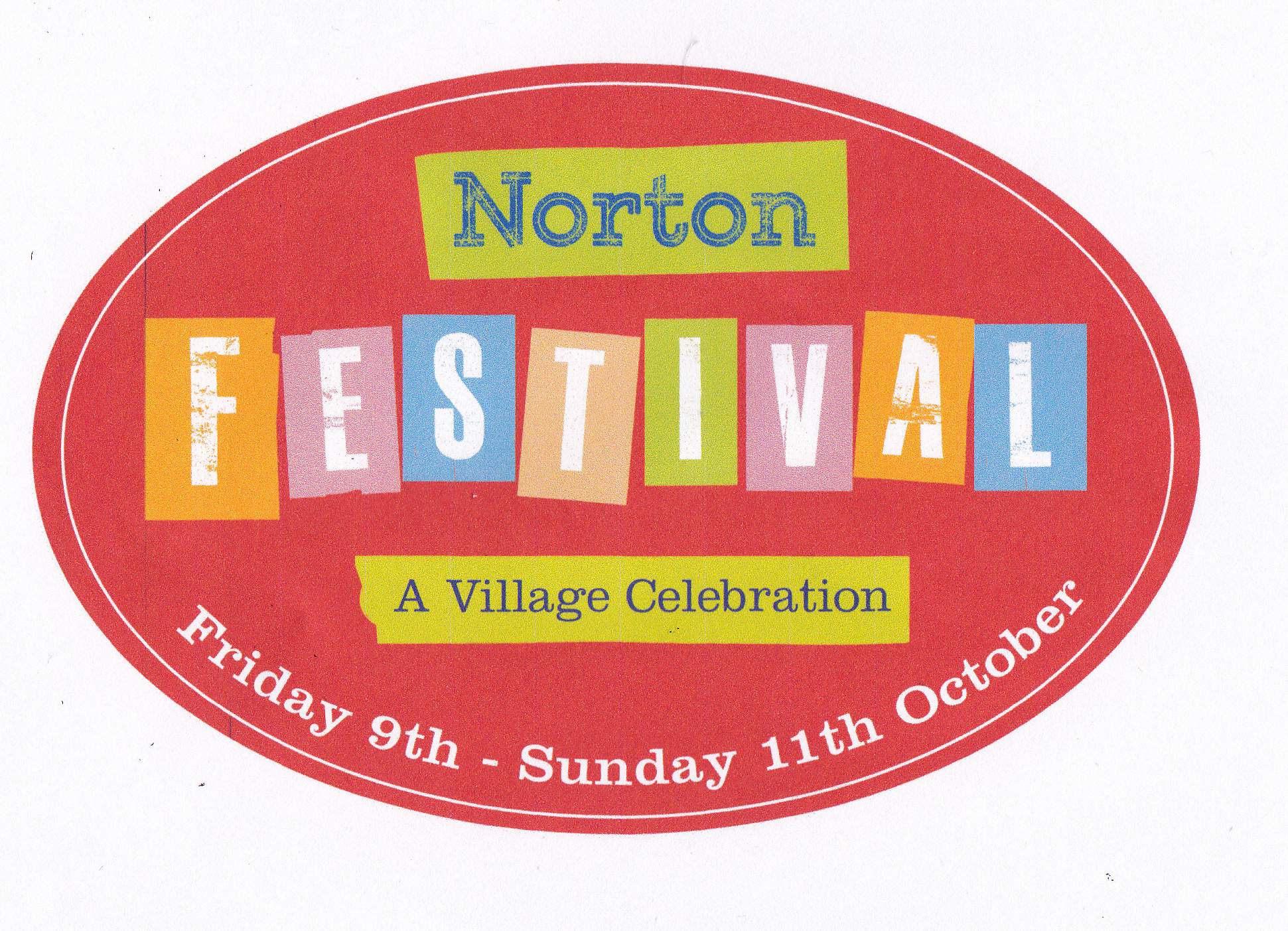 Norton Festival Sticker